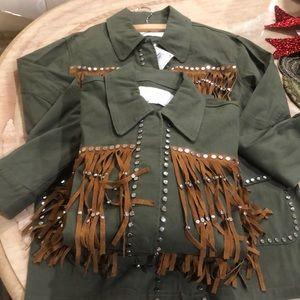 Army Green women's putter wear